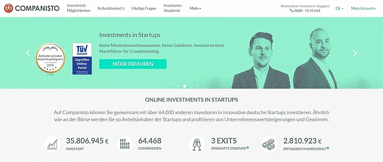 Companisto: Clever in innovative Start-ups investieren