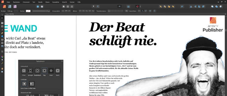 Affinity Publisher: InDesign-Alternative zum Schnäppchenpreis