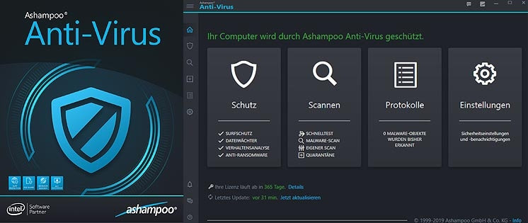 Malware ade: Ashampoo Anti-Virus im Test