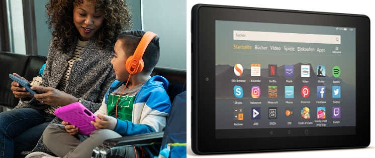 Amazon kündigt neue Fire 7 Tablets an