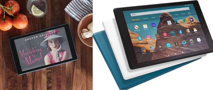 Amazon Fire HD 10: Neue Tablet-Generation ab Ende Oktober