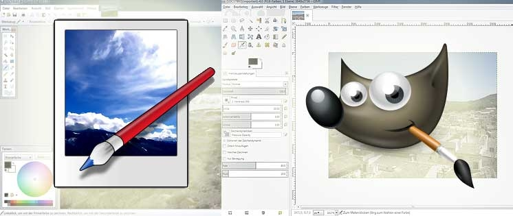 Paint.NET und GIMP: Photoshop-Alternativen zum Nulltarif