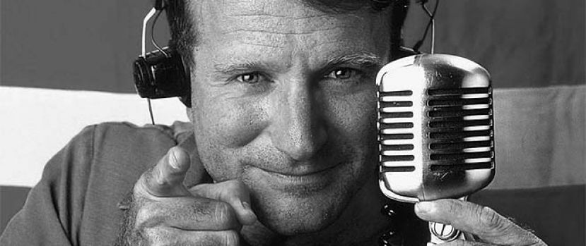 Trauriger Abschied von Robin Williams